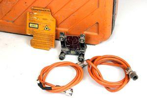 Geo Laser KL 10 DEFEKTER Kanalbaulaser Diodenlaser + Rahmen Zieltafel + KOFFER – Bild 2