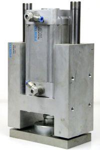 FESTO - DNC-80-80-PPV-A Normzylinder Pneumatikzylinder + FENG-80 Führungseinheit – Bild 1