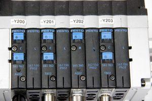 FESTO Ventilinsel CPV14-VI 18210 Magnetventil Schalldämpfer Elektrik-Anschaltung  – Bild 2