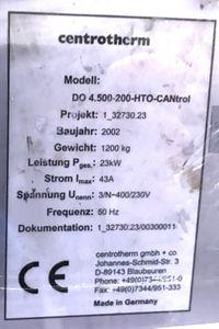 Centrotherm DO 4.500-200 HTO CANtrol Durchlaufofen Anlage High Temp Furnace – Bild 9
