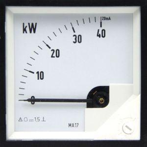 Meßgerät Messinstrument Analog Meters DC Anzeigegerät 0 - 40 kW – Bild 2