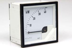 Meßgerät Messinstrument Analog Meters DC Anzeigegerät 0 - 40 kW – Bild 1