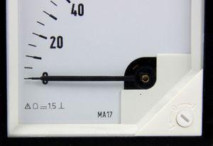 Messgerät Messinstrument Analog Meters DC Anzeigegerät 0 - 80 kW – Bild 3