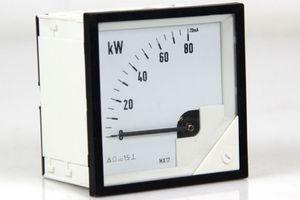 Messgerät Messinstrument Analog Meters DC Anzeigegerät 0 - 80 kW – Bild 1