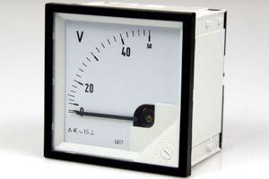 Messgerät Messinstrument Analog Meters AC Anzeigegerät 0 - 50 V – Bild 1