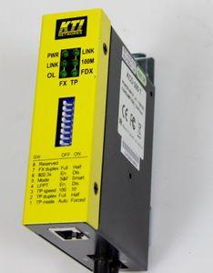 KTI KCD-300-T Industrie Medienkonverter RJ45 / ST MM 2 – Bild 1
