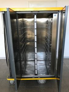 RATIONAL - UNITRAY 20 Transportwagen Tablettwagen heiß/kalt 20 Tabletts -3..130° – Bild 2
