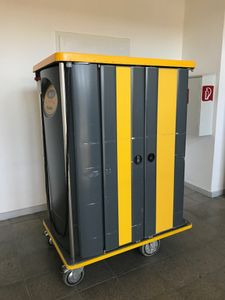 RATIONAL - UNITRAY 20 Transportwagen Tablettwagen heiß/kalt 20 Tabletts -3..130° – Bild 1