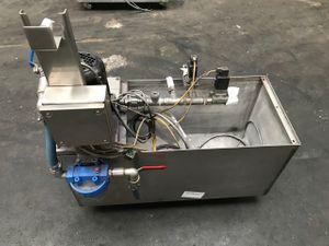 Edelstahl- Rückpumpstation  - Maschinenkühleinrichtung -  – Bild 1