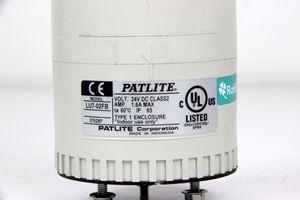 PATLITE - 24V LED Signalsäule Grün Rot Ø 70 mm - LU7 – Bild 2