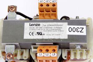 LENZE - 3Ph Netzfilter 3x5mH 3x7A - EZN3A0500H007 – Bild 2
