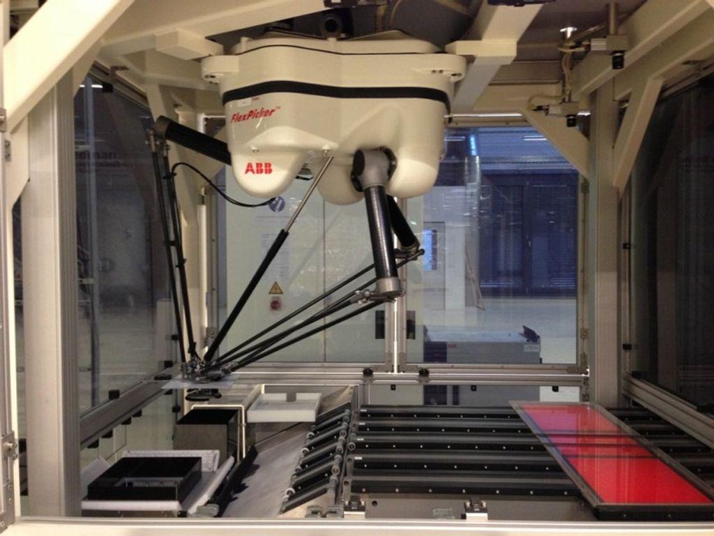 ABB Roboter Flexpicker® Industrieroboter Deltaroboter IRB 340 M2004 Type B #12