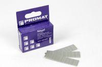 PROMAT - Tacker-Nägel / Nägel ohne Kopf 1 x 16 mm - 2000 Stück