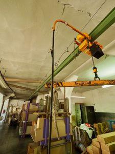 Liftket Elektrokettenzug 250- 500 kg Fahrwerk + Träger ca. 15m – Bild 5