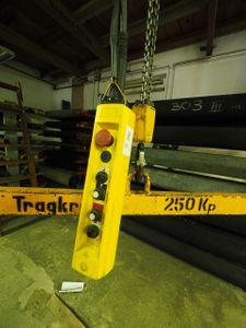 Liftket Elektrokettenzug 320 kg Fahrwerk + Krantraverse + Feinhub – Bild 2