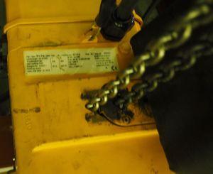 Liftket Elektrokettenzug 320 kg Fahrwerk + Krantraverse + Feinhub – Bild 6