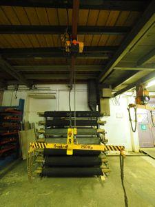 Liftket Elektrokettenzug 320 kg Fahrwerk + Krantraverse + Feinhub – Bild 1