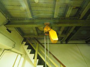 balkancar Elektrokettenzug 250 kg - Hubhöhe: ca. 6,80 m – Bild 4