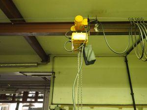 Liftket Elektrokettenzug 320 kg Fahrwerk + Träger ca. 10m – Bild 5