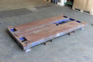 Rungenpalette Stahlpalette 220x112 cm stapelbar Palettenregal – Bild 3