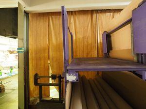 Rungenpalette Stahlpalette klappbar Paletten Stapelpaletten – Bild 2