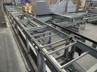 Gurtförderer Transportband Doppelgurtförderer - Breite 790 mm / Länge 4200 mm