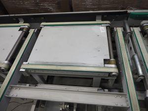 Gurtförderer Transportband Doppelgurtförderer - Breite 790 mm / Länge 970 mm – Bild 1
