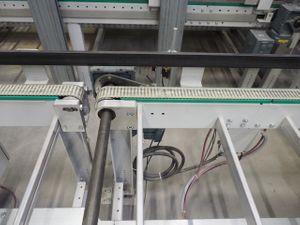 Gurtförderer Transportband Doppelgurtförderer - Breite 1210 mm / Länge 3700 mm – Bild 4