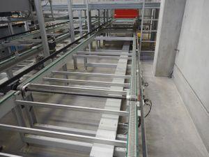 Gurtförderer Transportband Doppelgurtförderer - Breite 1210 mm / Länge 4700 mm – Bild 1