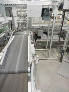Kommissionieranlage Verpackungsstation 6 Pläzte + ca. 32 Meter Förderband – Bild 3