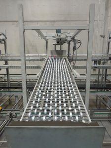 Kommissionieranlage Verpackungsstation 6 Pläzte + ca. 32 Meter Förderband – Bild 8