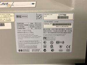 HP - Großformatdrucker Tintenstrahldrucker Farbe A0 - DesignJet 500 C7770B – Bild 6