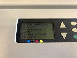 HP - Großformatdrucker Tintenstrahldrucker Farbe A0 - DesignJet 500 C7770B – Bild 10