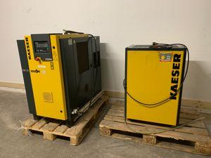 KAESER SM 12 T Schraubenkompressor + Kältetrockner TB 19 – Bild 1