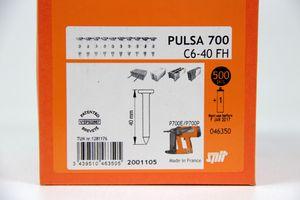 SPIT - 500 Nägel 40 mm Direkt Befestigung Beton - PULSA 700 C6-40 FH – Bild 2