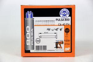 SPIT - 500 Nägel 40 mm Direkt Befestigung Beton - PULSA 800 C6-40 FH – Bild 2