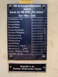 WMW Saalfeld BS 40 - Säulenbohrmaschine Getriebebohrmaschine MK4 4,2kW – Bild 6