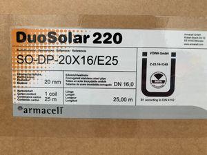 ARMACELL - Edelstahlwellrohr DuoSolar + Isolierung Fühlerleitung SO-DP-20X16/E25 – Bild 2