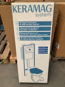 KERAMAG - WC Vorwandelemet Vorwandmodul Fresh f. Kind/Baby 400x1030mm 514150000 – Bild 1