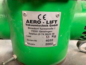 AERO LIFT 3kW Schlauchheber Vakuumheber f. Kartons Fässer MULTI-LIFT bis 50 kg – Bild 3