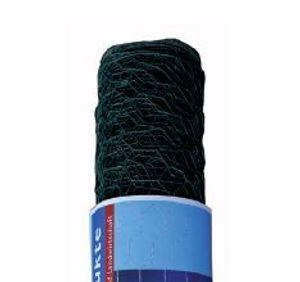 Maschendraht 4-eck Geflecht grün Rolle 25 m 60x2.8x2000 mm Normalwicklung