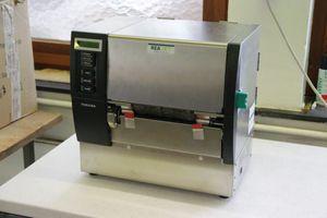 TOSHIBA B-SX6T-TS12-QM-R Etikettendrucker Thermotransfer 305dpi Parallel USB LAN – Bild 1