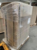 800x Karton Versandkarton Faltkarton Verpackungskarton 1-wellig 740x80x50 mm