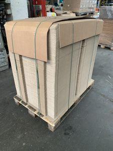 1500x Karton Versandkarton Faltkarton Verpackungskarton 1-wellig 390x93x54 mm