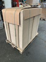1500x Karton Versandkarton Faltkarton Verpackungskarton 1-wellig 390x93x54 mm 001