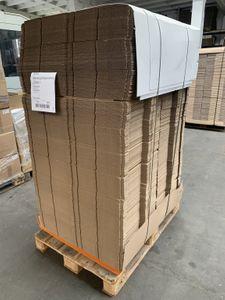 880x Karton Versandkarton Faltkarton Verpackungskarton 1-wellig 600x74x90 mm – Bild 1