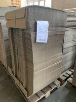 500x Karton Versandkarton Faltkarton Verpackungskarton 1-wellig 540x80x78 mm  001