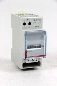 LEGRAND - analoger Betriebsstundenzähler DIN-Schiene - 24 VDC - Rex2000 HC2 – Bild 1