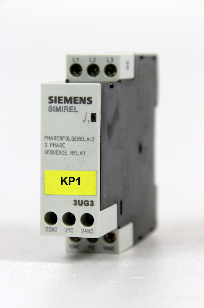 SIEMENS Phasenfolgeüberwachung 3x230-400V AC 3UG3511-1BQ50