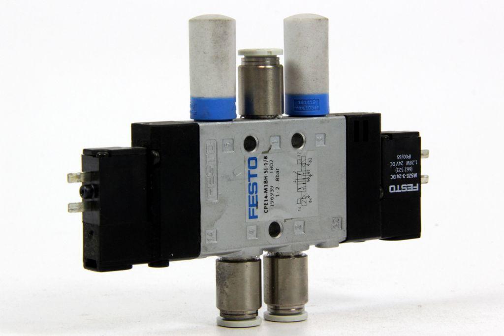 "FESTO 1/8"" Magnetventil 5/2 bistabil CPE14-M1BH-5J-1/8 196939"